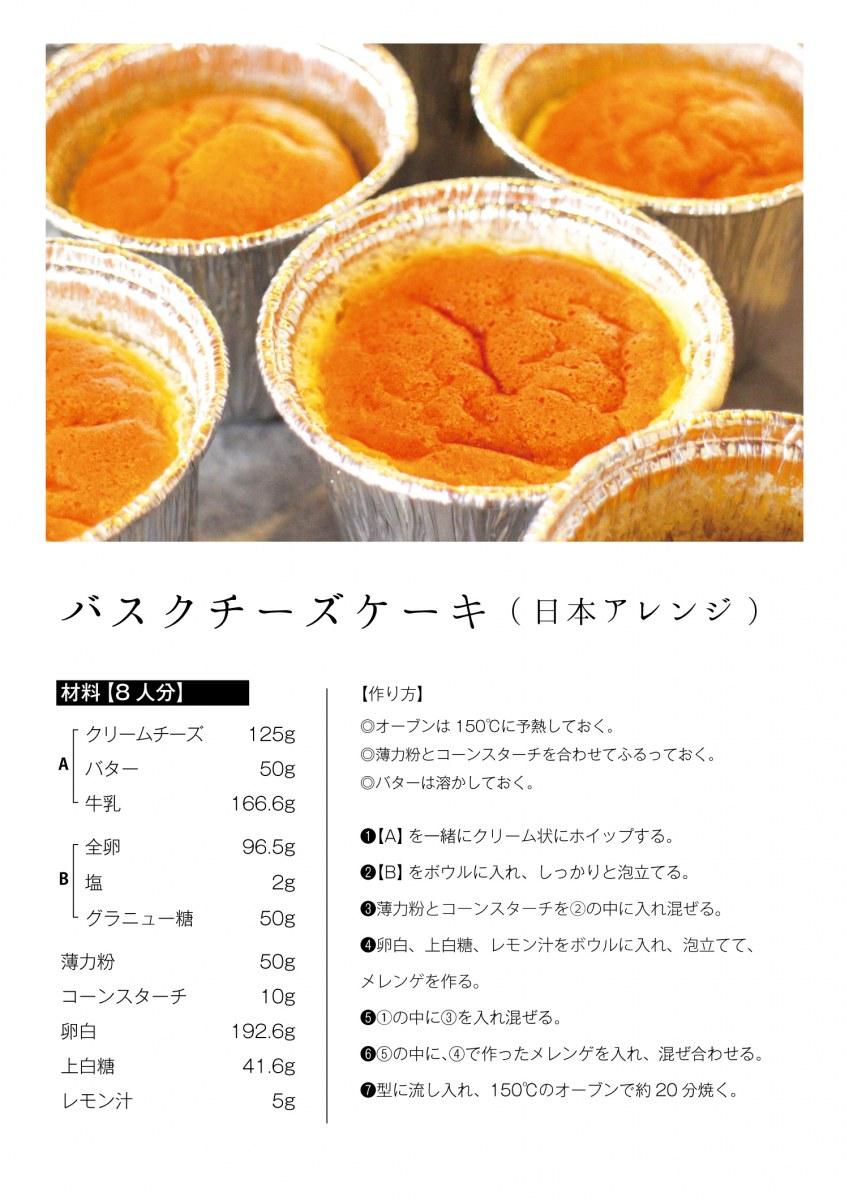 バスクチーズケーキ レシピ